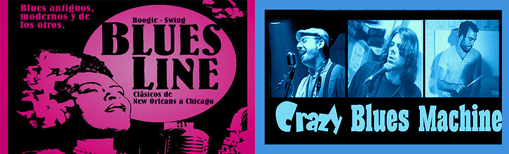 BLUES LINE & CRAZY BLUES MACHINE